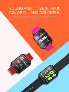 Smart Watch Colmmi A prova d'agua Bluetooth Monitoramento Cardiaco para Android e IOS Phone