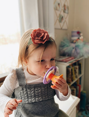 Floral Whistle Teether