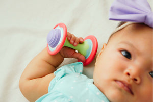 Mini Dumbbell Teether