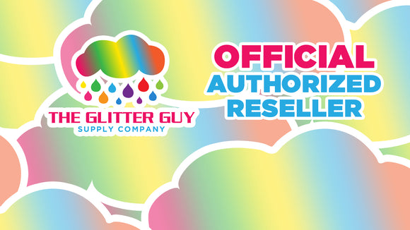DIRECT VINYL SUPPLY IS AN OFFICIAL AUTHORIZED RESELLER OF THE GLITTER GUY GLITTER