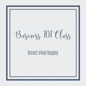 SHIRT BUSINESS 101 CLASS - Direct Vinyl Supply