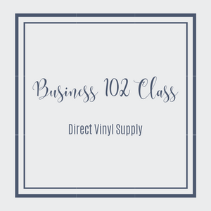 SHIRT BUSINESS 102 CLASS - Direct Vinyl Supply