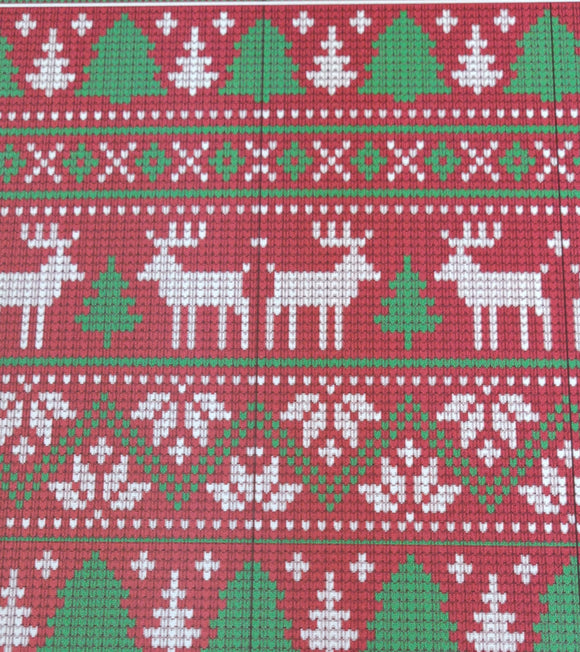 B-FLEX GIMME5 CHRISTMAS SWEATER PATTERN 20