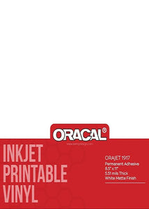 ORACAL ORAJET PRINTABLE ADHESIVE SHEETS