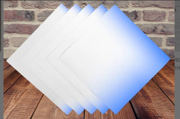 COOL BLUE COLOR CHANGING ADHESIVE VINYL