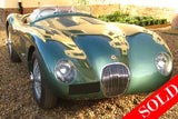 1951 C-Type Recreation by Classic Car Developments