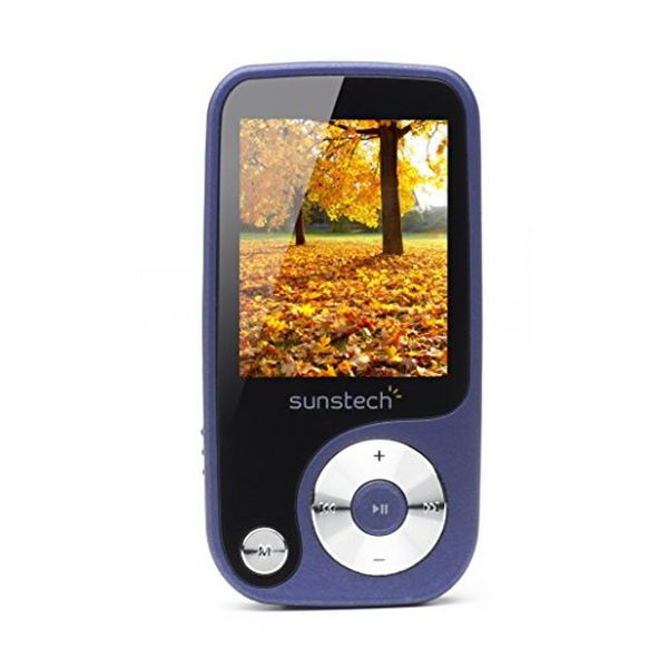 MP4 Sunstech Thorn 4 GB Azzurro