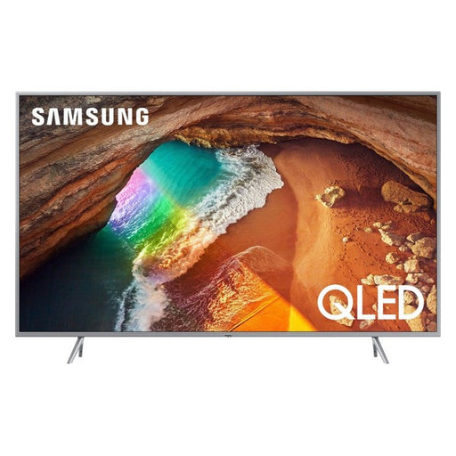 "Smart TV Samsung QE65Q64T 65"" 4K Ultra HD QLED WiFi Argentato"