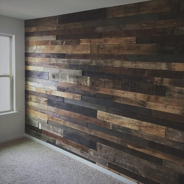 Create an Accent Pallet Wall