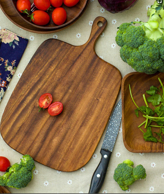 Wooden Cutting Board - Decorative Yet Functional