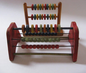 old fashion wood abacus