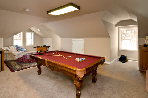 attic for rec room refresh
