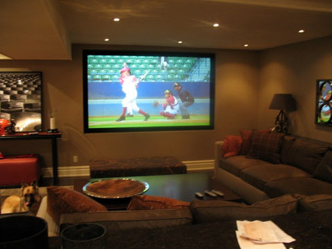 Sports for theater room
