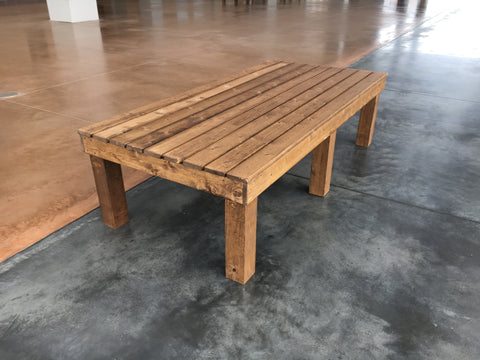 bench to decorate and place in home