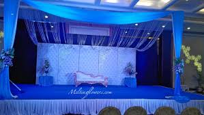 backdrop used at stage to create desired mood or theme