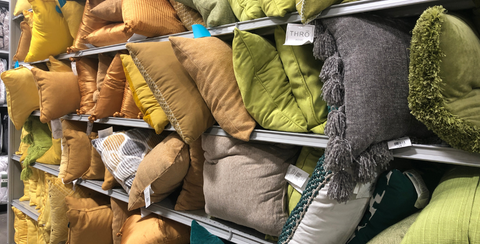 colored pillow choices