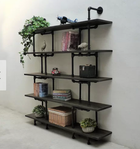 floating shelves for home office