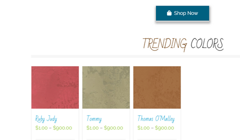 Manda Mudd posts Trending colors on their website