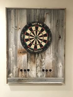 dart board for rec room refresh