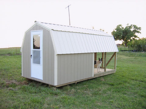 dog house and play house