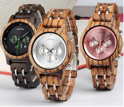 hi tech wood watches