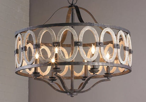 chandelier for corner of guest room