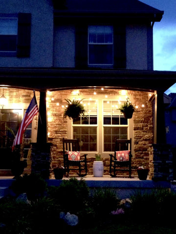 lights for reading at night on front porch