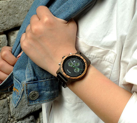 masculine wood watch