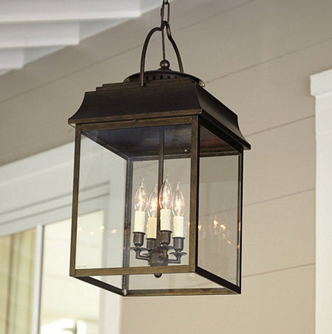 lantern lighting for front porch