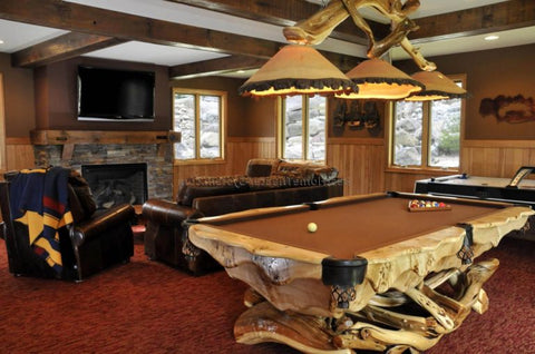 lighting over pool table