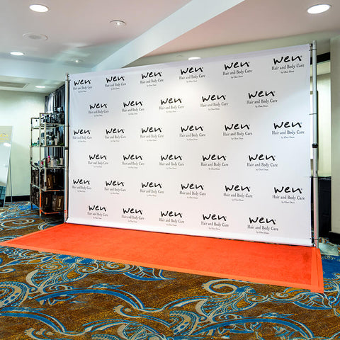 backdrop for specific company with product props