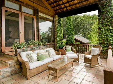 patio furniture for front porch room refresh
