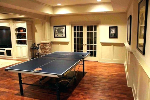ping pong table in rec room refresh