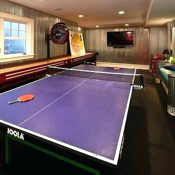 ping pong preference in small rec room refresh
