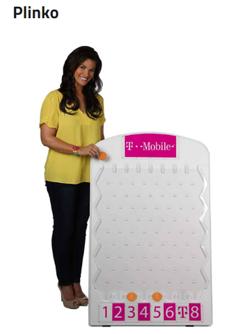 Plinko for trade show game