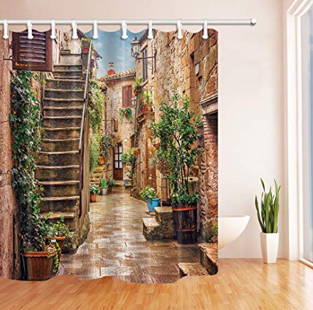 real life shower curtain