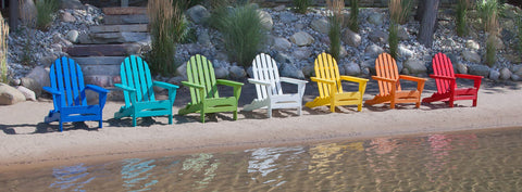recylced plastic adirondack chairs