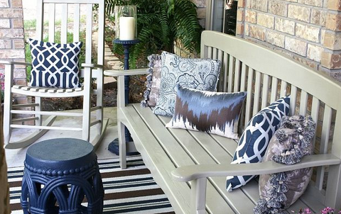 recycled plastic for front porch furniture
