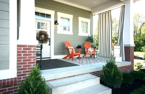 simple front porch refresh