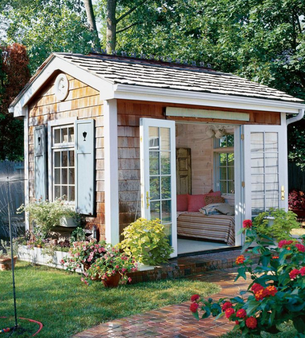 decorate your she shed