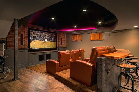 perfect theater room