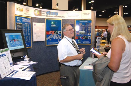 trade show booth interaction