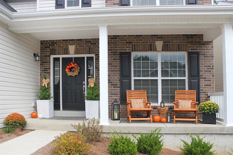front porch with updated rockers