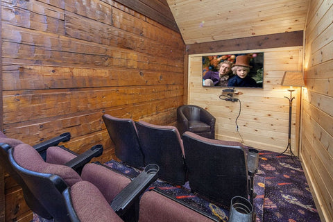very small theater room