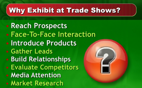 Why Trade shows?