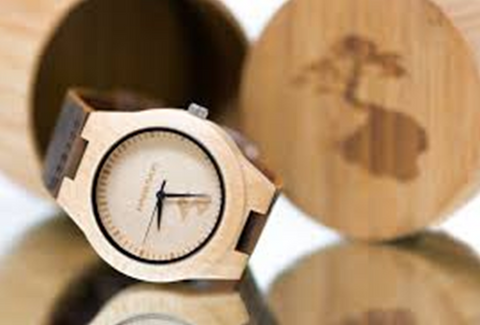 wood watches are very popular
