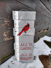 all is calm pallet sign near barn