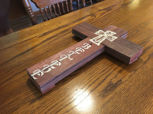 Believe pallet sign on pretty wood grain table
