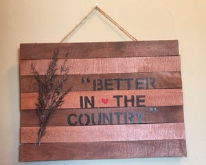Better In The Country
