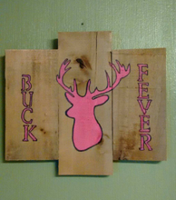 Buck Fever painted pink for the ladies